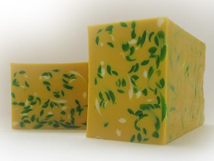 Мыло с желтой глиной